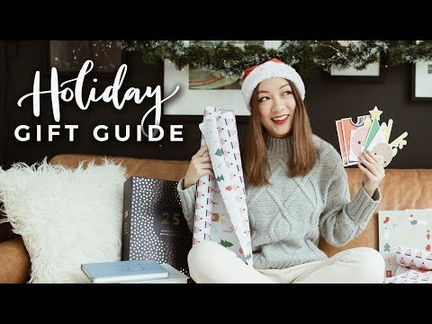 HOLIDAY GIFT GUIDE! Gift Ideas for Stationery Lovers! - YouTube