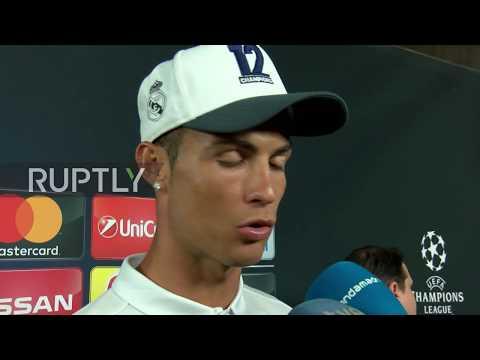 UK: 'I am the record man' - Ronaldo boasts after Champions League win