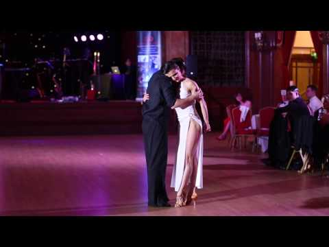 Viktoriya Wilton and Paulius Vaskelis performing 'Don't Let Go' Rumba at The London Gala Ball 2017