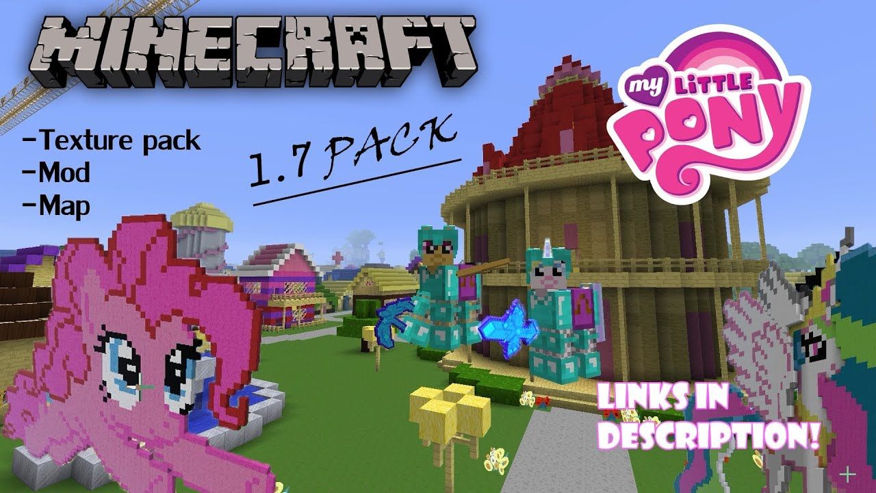 My little pony mod map texture pack minecraft 17 links my little pony mod map texture pack minecraft 17 links in the description youtube sciox Choice Image