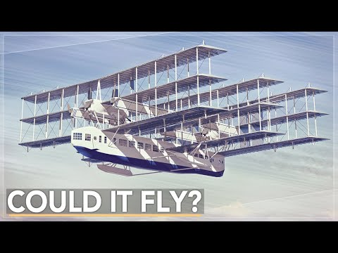 This Plane Tried To Do The Impossible: The Caproni Transaereo