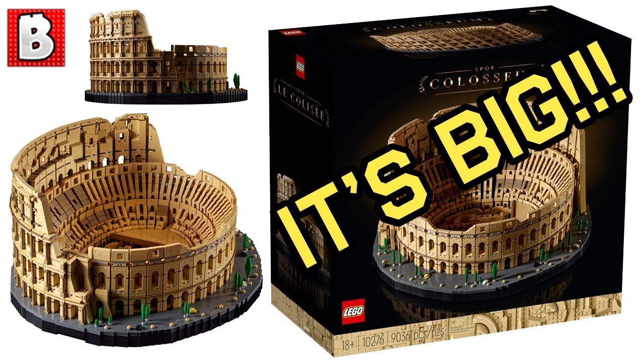 BIGGEST LEGO SET! Colosseum Revealed! | LEGO News
