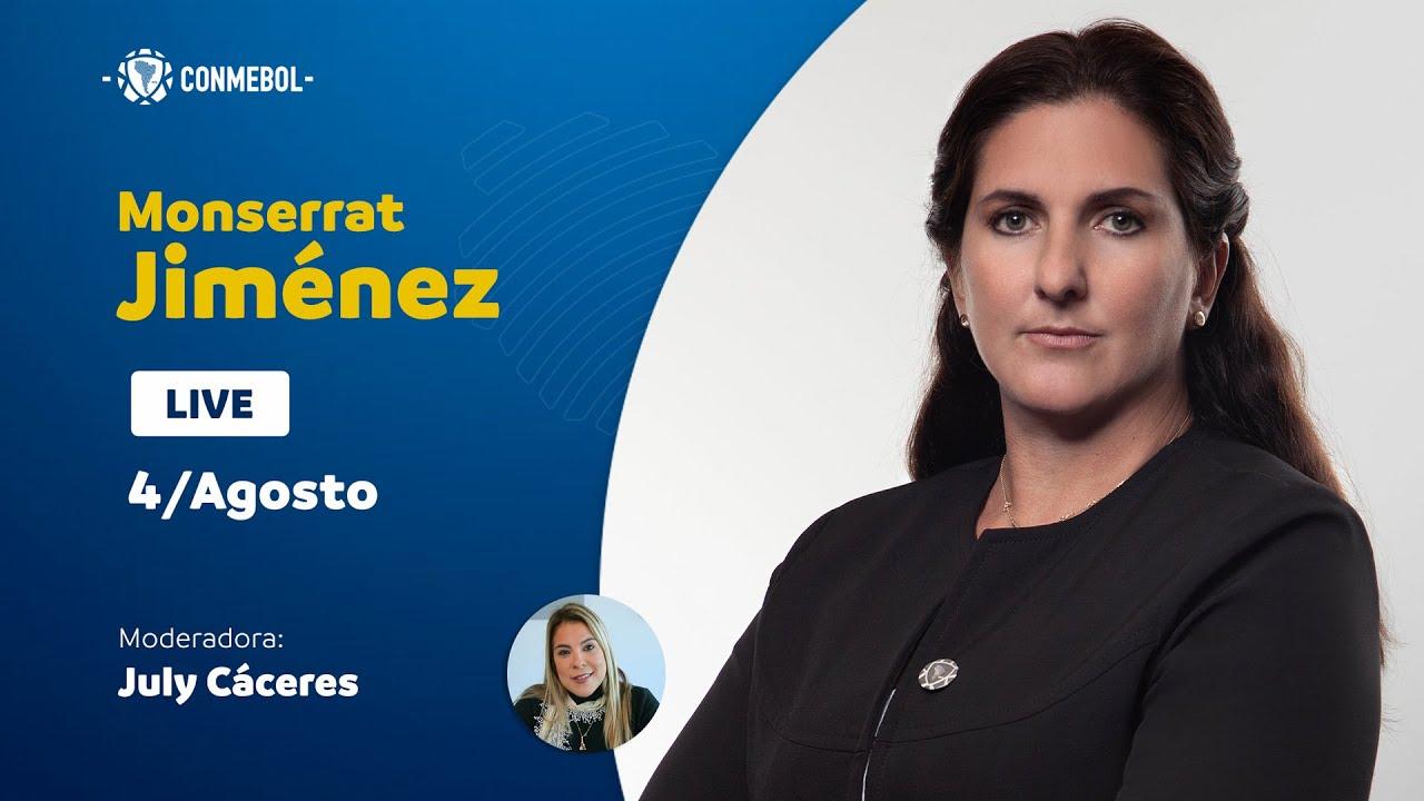 Entrevista con la Directora Jurídica y Secretaria General Adjunta de la CONMEBOL, Moserrat Jiménez
