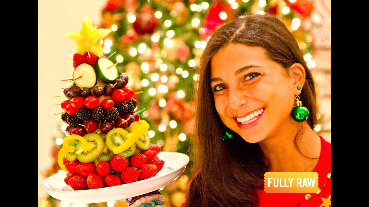 FullyRaw Edible Christmas Trees!