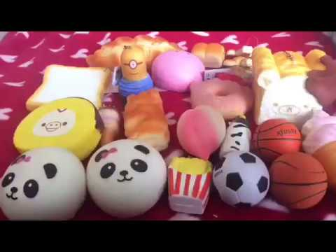 Squishy Collection 2017 : My 2017 squishy collection! - YouTube