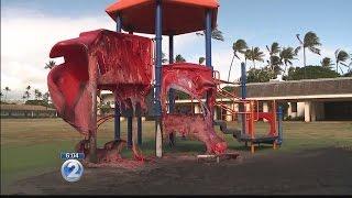 Firefighters, police investigate Jefferson Elementary school playground fire