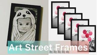 Unboxing Art Street Photo Frames | How to hang photo frames using seamless nails | Art Street Frames screenshot 1