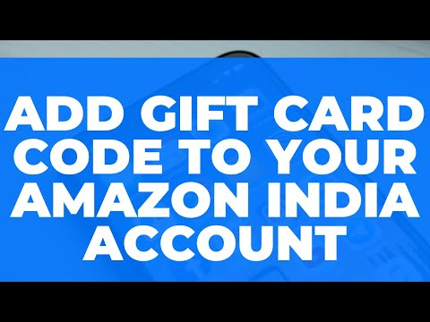 how to add gift card code to your amazon india account gift card ko pay balance mein kaise. Black Bedroom Furniture Sets. Home Design Ideas