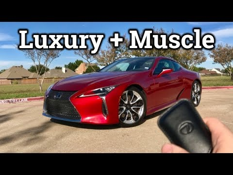 2019 Lexus LC 500 | Super Coupe Blending Luxury and Muscle