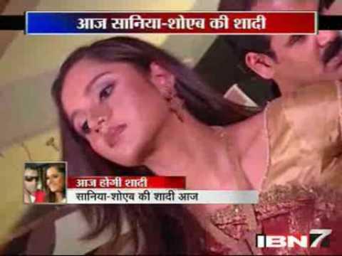 Sania Mirza-Shoeb Malik wedding announcement (In Hindi/Urdu)