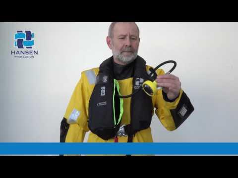 Helicopter Pilot lifejacket