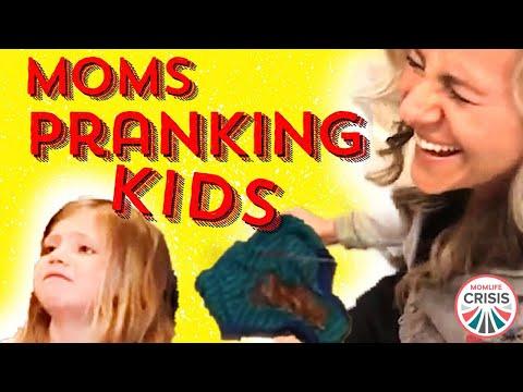 BEST KID PRANKS BY THEIR PARENTS - Easy Pranks - MomLife Crisis #momlifecrisis