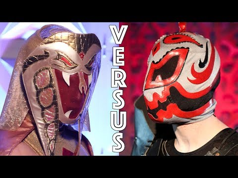 CHIKARA: Ophidian vs. Hallowicked (PCAGG 499)