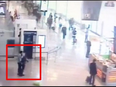 Video shows Paris airport attacker grabbing soldier