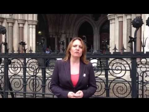 Kellie Cottam @ The Royal Courts of Justice
