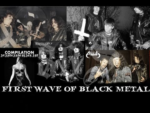 Top Of First Wave Of Black Metal 80's