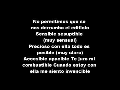 Wisin y Yandel - Mi Tesoro (lyrics)