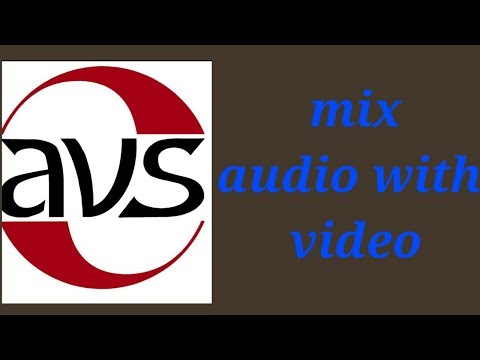 how to sync audio with video in avs editor by tech one