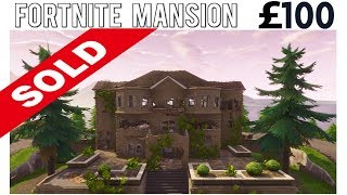 I put the 'Fortnite Mansion' up FOR SALE and SOMEONE Actually Bought it...