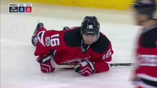Josefson motors right into a stanchion with help of McCabe