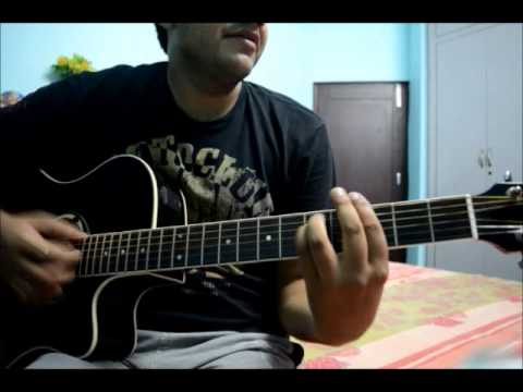 mere humsafar all is well guitar cover with intro