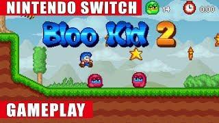 Bloo Kid 2 Nintendo Switch Gameplay