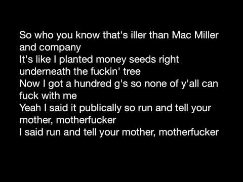 Blue Slide Park- Mac Miller *LYRICS