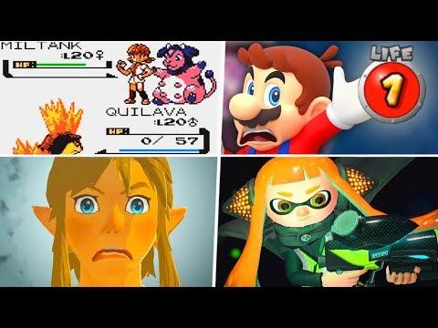 Evolution of Unfair Nintendo Levels (1990 - 2019)