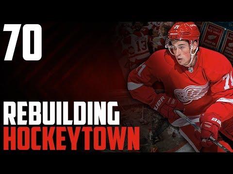"""NHL 17 - Detroit Red Wings Franchise Mode #70 """"Still Going"""""""