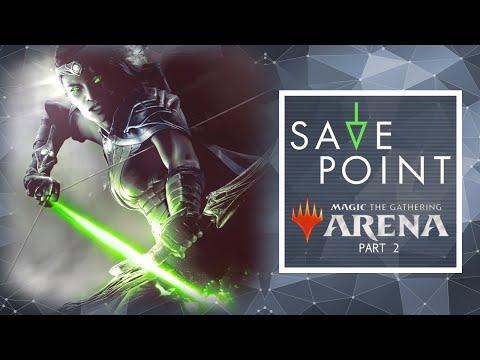 "Magic: The Gathering Arena PT. 2 ""Azorius Lukka"" - Save Point with Becca Scott"