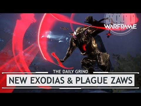 Warframe: EVERY New Exodia & Plague Zaw [thedailygrind] thumbnail
