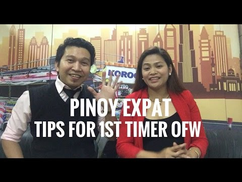 PINOY EXPAT || TIPS AND GUIDE FOR 1ST TIMER OFW IN DUBAI