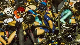 Crash at the Red Hook Crit Womens Final 2017