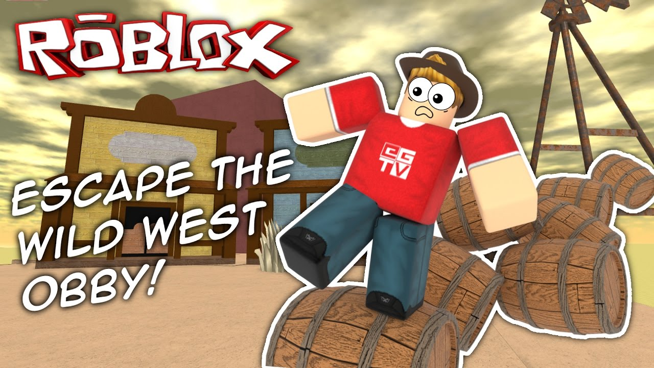 Escape The Wild West Roblox Obby Youtube