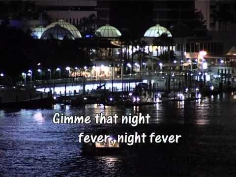 Night Fever - Bee Gees Karaoke