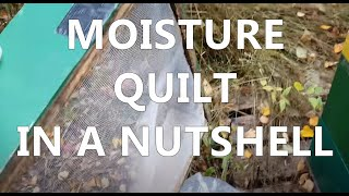 mudsongs.org: Moisture Quilt in a Nutshell