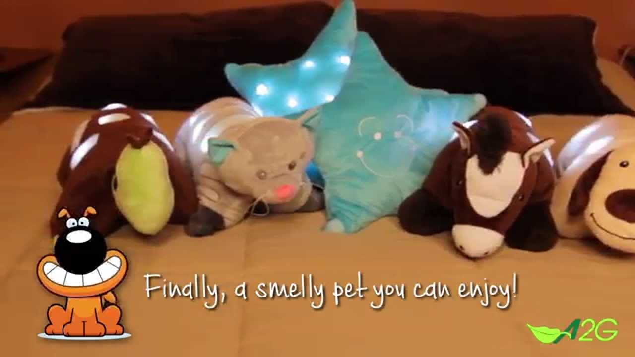 Aromatherapy Animal Pillow : Aroma Pets Pillow Animals - First Ever Aromatherapy, LED, Pillow Pet for Kids - YouTube