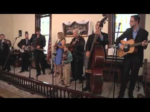 AMAZING GRACE Rhonda Vincent & The Rage w/ Bob Saxton, Carson Peters - 7 years old