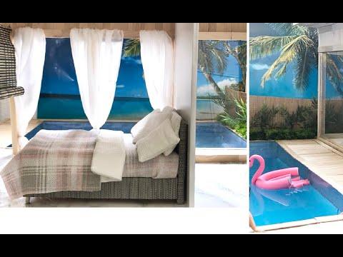 "DIY Miniature ""Maldives Water Villa"" for Barbie Dolls"