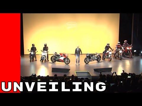 Unveiling - 2017 Ducati Motorcycle Premiere