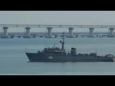 UE condena captura de navios ucranianos pela Rússia