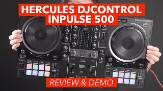 Hercules DJControl Inpulse 500 Demo & Review