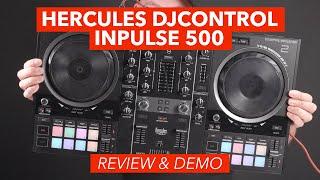 Hercules DJControl Inpulse 500 Demo & Review