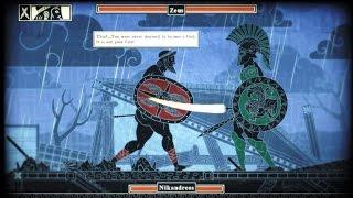 Apotheon Zeus Boss Fight (Warrior difficulty)