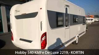 Hobby 540 KMFe De Luxe 2219,- KORTIN