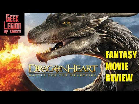 DRAGONHEART 4 : BATTLE FOR THE HEARTFIRE ( 2017 Patrick Stewart ) Fantasy Movie Review
