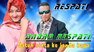 Gambar cover Jatuh cinta ke  janda kaya -   Andra Respati (Lyrics)