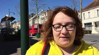 Manon Bertin évacuée de son appartement avenue Gambetta à Barbezieux