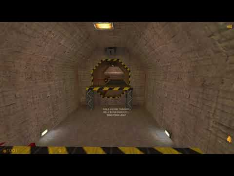 [Tas] Half-Life 1 Hazard Course in 2:08