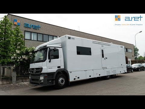 Police command OB Van for border monitoring/protection